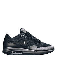 "Кроссовки Nike Air Max 1 Ultra Flyknit ""Black/Grey"" Арт. 2030"