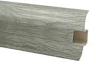 Плинтус 60 мм дуб альпийский