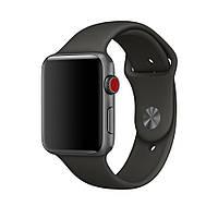 Силиконовый ремешок для Apple Watch Sport Band 38/42 mm - Gray