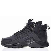 "Кроссовки Nike Huarache X Acronym City MID Leather ""All Black"" Арт. 2005"