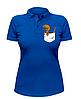 Женская футболка-поло с динозавром в кармане, фото 3