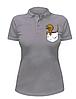 Женская футболка-поло с динозавром в кармане, фото 4