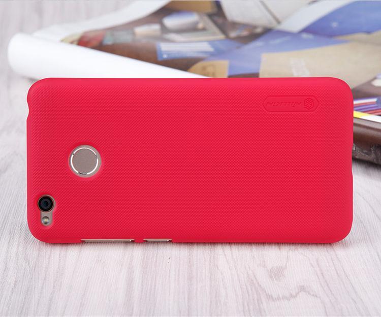 Nillkin Xiaomi Redmi 4X Super Frosted Shield Red Чехол Накладка Бампер