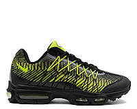 "Кроссовки Nike Air Max 95 Ultra Jacquard ""Black/Lime Green"" Арт. 1926"