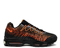 "Кроссовки Nike Air Max 95 Ultra Jacquard ""Black/Orange"" Арт. 1924"