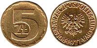 Польша 5 злотых 1985г.