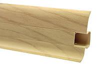 Плинтус 60 мм сосна