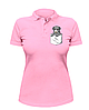 Женская футболка-поло с собачкой в кармане, фото 2