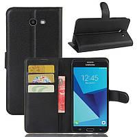 Чехол для Samsung Galaxy J7 2017 J720 J720F US Version книжка кожа PU