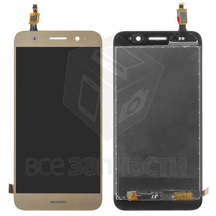 Дисплейный модуль для мобильного телефона Huawei Y5 lite (2017) золото