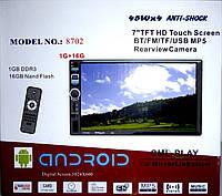 Автомагнитола 2DIN  8702/GPS Android