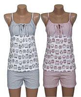 Новинка! Женские летние пижамы для сна серий Topi - Pink Owl и Grey Owl!