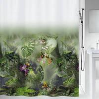 Шторка для ванной текстильная Spirella JUNGLE 180х200