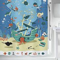 Шторка для ванной текстильная Spirella PIRATES 180х200