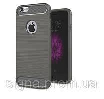 Чехол Бампер Carbon для Iphone 6 Plus / 6s Plus оригинальный Grey