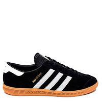 """Кроссовки Adidas Originals Hamburg """"Black"""" Арт. 1412"""