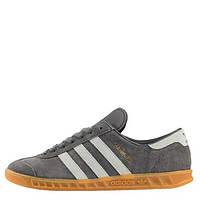 """Кроссовки Adidas Originals Hamburg """"Grey"""" Арт. 1413"""