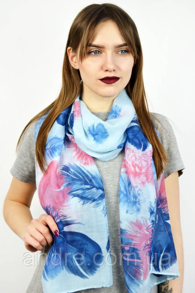 Легкие шарфы Мольбер, индиго