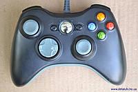 Проводной геймпад для Xbox 360 и PC (серые кнопки)