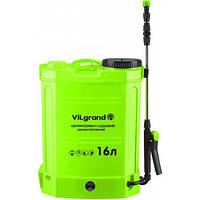 Опрыскиватель аккумуляторный с регулятором мощности VILGRAND SGA-16RP