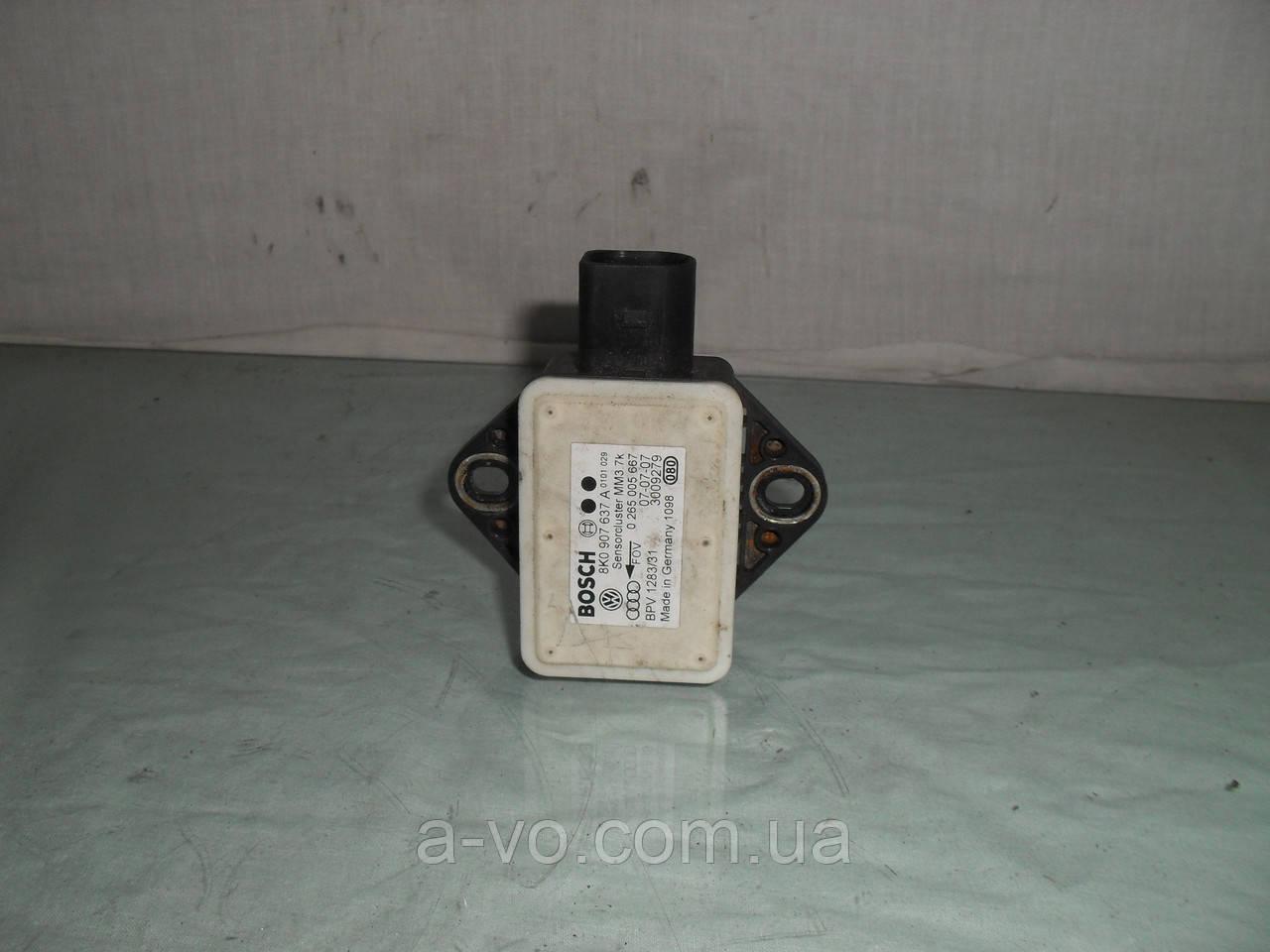 Датчик продольного ускорения ESP Audi A4 B8, 8K0907637A