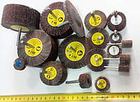 КЛО круг шлифовальный лепестковый с оправкой 75х40х6 Klingspor Р80