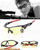Стрелковые очки для охоты, рыбалки, страйкбола, стрельбы, спорта + видео обзор