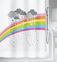 Шторка для ванной виниловая Spirella ARC EN CIEL 180х200