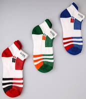 Р. 25-27 ( 3-5 лет ) носочки Bross летние Спортивные полоска