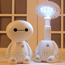 Лампа светодиодная мини настольная беспроводная Беймакс (Город Героев), фото 3