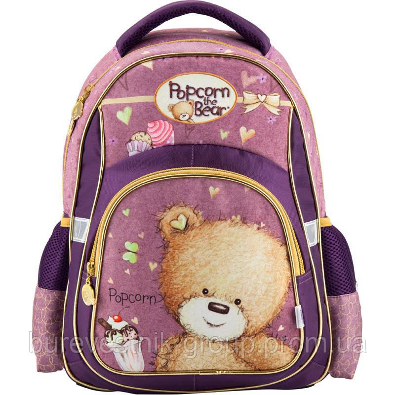 43472c8018b5 Рюкзак ортопедический школьный Kite Popcorn the Bear ( PO18-518S ) - Сеть  магазинов канцелярии