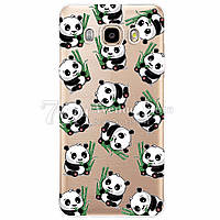 Чехол Бампер для Samsung J7 2016 J710 J710H силиконовый Panda