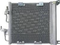 Радиатор кондиционера Opel Astra H (CDTI) с осушителем (408*367мм по сотах)