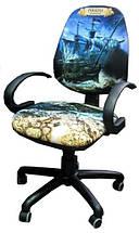 Кресло Бридж Хром Дизайн Дисней Пираты карибского моря Черная Борода, фото 3