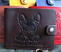 Эксклюзивное мужское портмоне № 2 Бульдог, фото 1