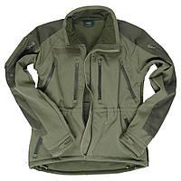 """Куртка """"Softshell Plus"""" демисезонная Олива Mil-tec Германия"""
