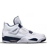 """Баскетбольные кроссовки Air Jordan IV Retro """"Columbia"""" Арт. 0114"""