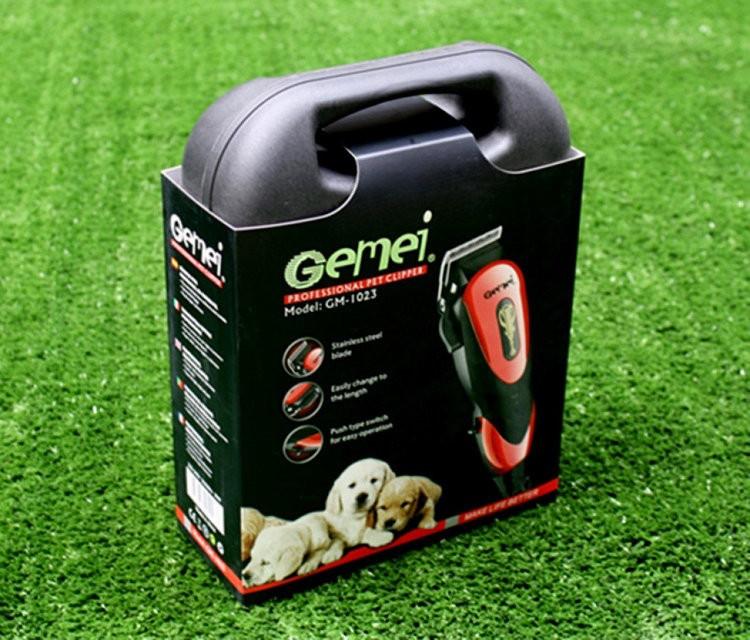 Профессиональная машинка для стрижки животных вычесывания Gemei G-1023