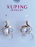 603. Бижутерия и серьги под золото по оптовым ценам - Серьги Xuping.