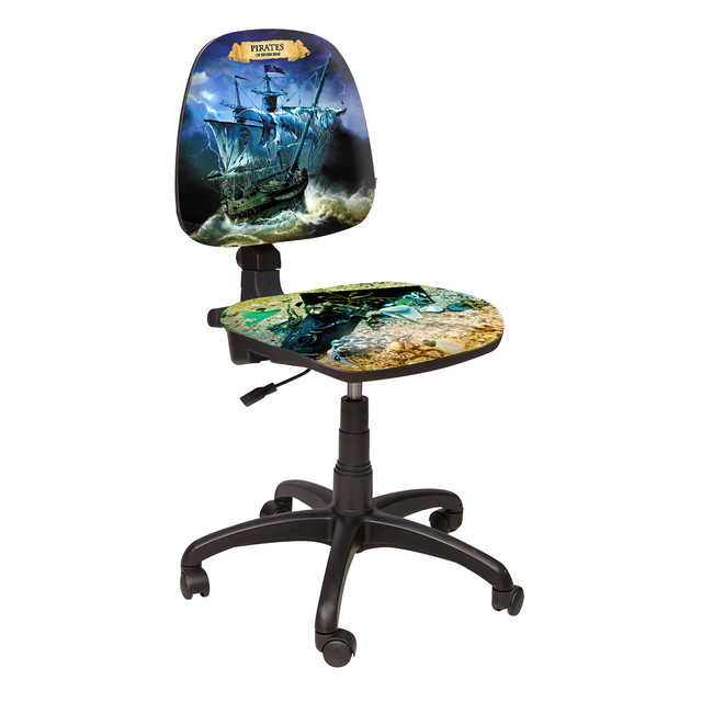 Кресло Престиж Люкс LB Дизайн №1 Пираты.