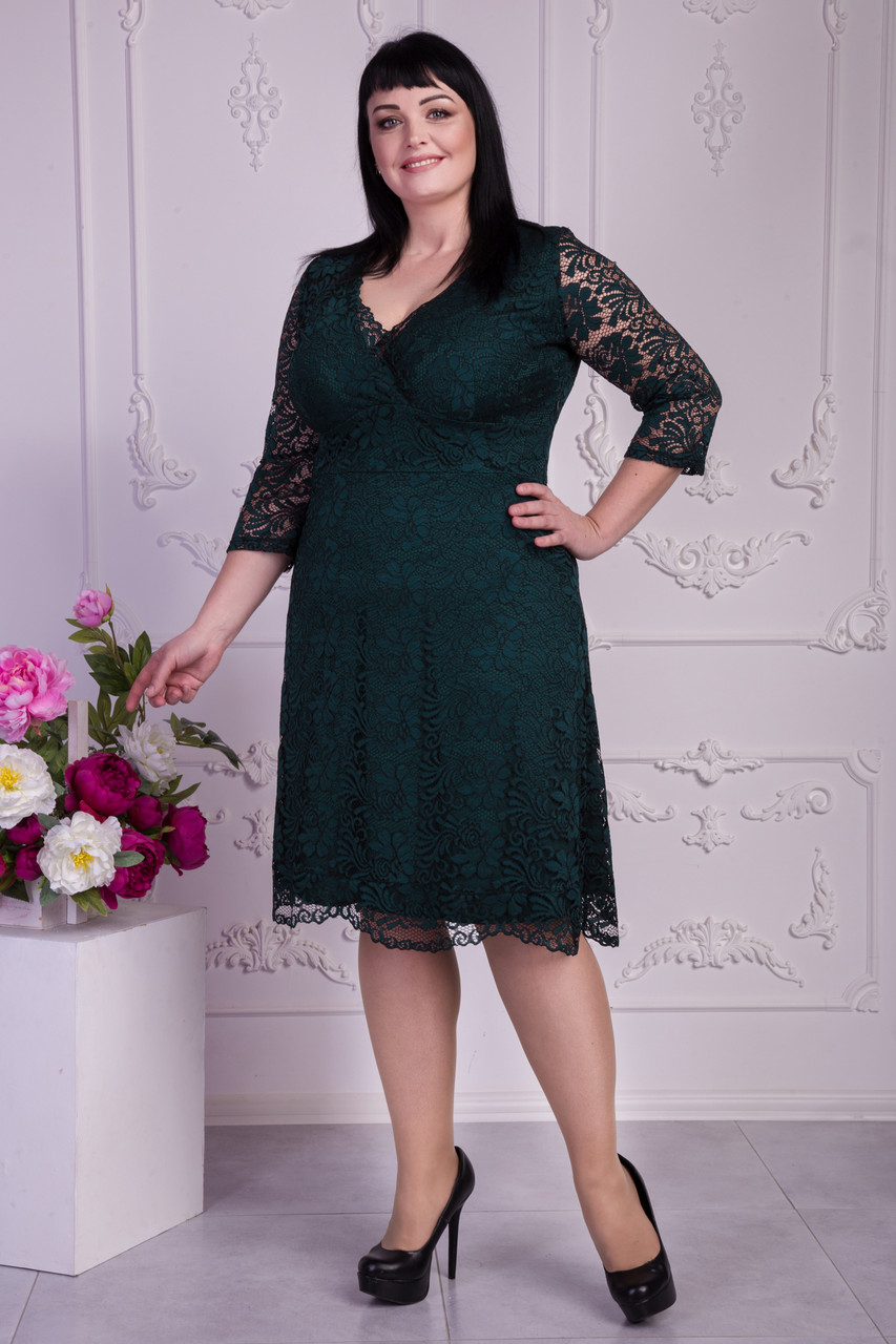 be8eeabed44 Женское нарядное кружевное платье