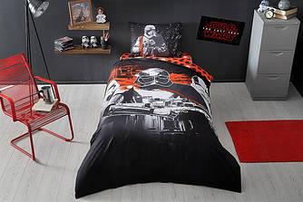 Детское подростковое постельное белье TAC Star Wars The Last Jedi Glow Ранфорс