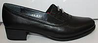 Женские туфли кожаные на каблуке, кожаные женские туфли от производителя модель БМ62К