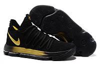 Мужские баскетбольные кроссовки Nike Zoom KD 10 Black/Gold, фото 1