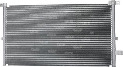 Радиатор кондиционера Ford Mondeo 2000-2007 628*362мм по сотах (без осушителя) KEMP