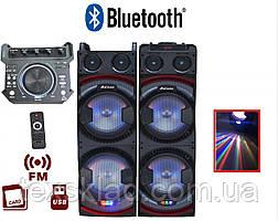 Активные колонки USB-1022 (USB/FM/Bluetooth)