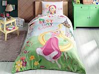 Детское подростковое постельное белье TAC Rapunzel Dream Ранфорс
