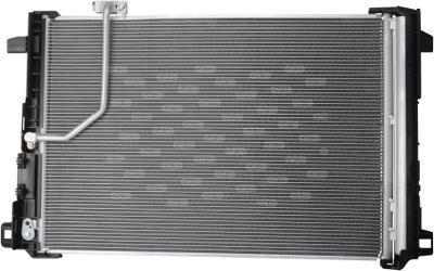 Радиатор кондиционера Mercedes C-Class W204 610*420мм по сотах (с осушителем) KEMP
