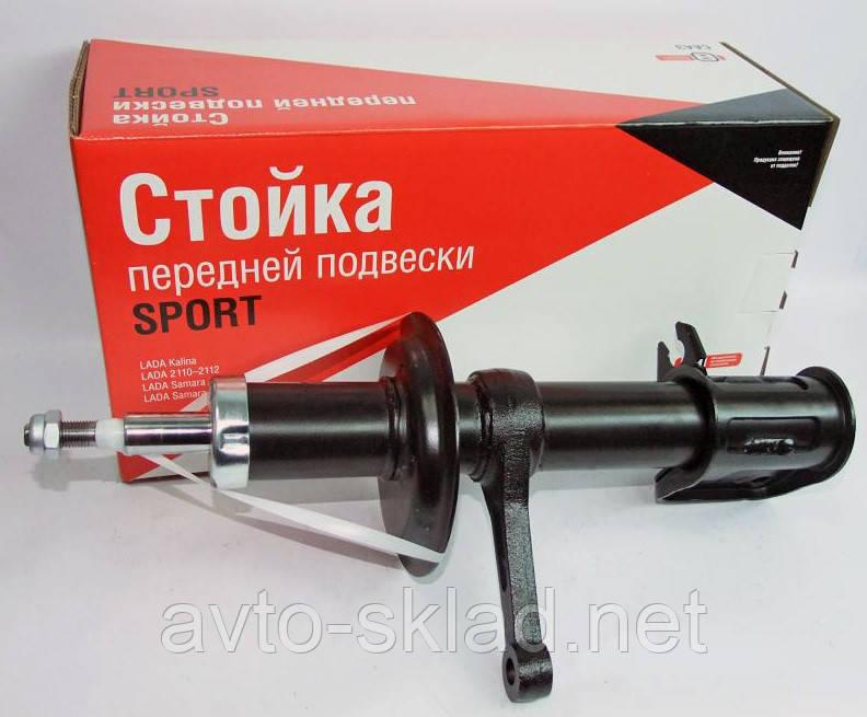 Стійка амортизатор Ваз 2108, 2109, 2113, 2114, 2115 СААЗ передній лівий