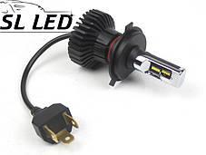 LED лампы в головной свет серии SX5 Цоколь H4, 25W, 3000 Люмен/Комплект, фото 2